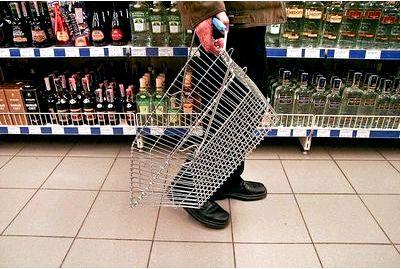 Продажи водки резко упали