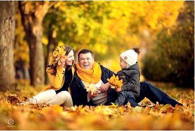 Семейная фотосессия «Осенние мотивы»