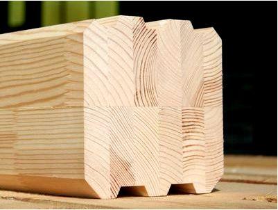 Клееный брус как материал для постройки дома