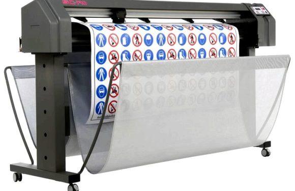 Широкоформатная печать применяется для нанесения изображений на пластик, бумагу, пленку